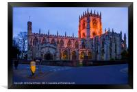 St Mary's Parish Church, Beverley, Framed Print