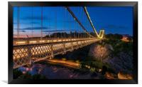 Clifton Suspension Bridge, Bristol, Framed Print