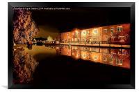 Fradley Canal Junction, Framed Print