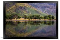 Buttermere Reflections II, Framed Print