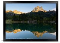 Lac de Bious-Artigues, Framed Print