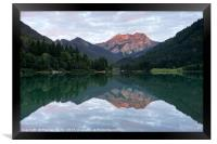 Lac De Vallon, Framed Print