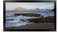 The Sea at Elgol, Framed Print
