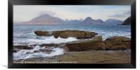Morning tides at Elgol, Framed Print