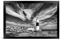Windy Skies., Framed Print