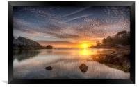 Mackerel Skies, Framed Print