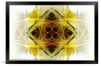Dimensions Joint, Framed Print
