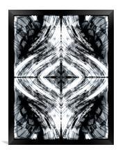 Energy Flow, Framed Print