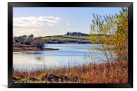 """Autumn at Loch Linden"", Framed Print"