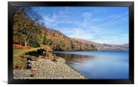 """""""Ullswater Lake-side"""", Framed Print"""