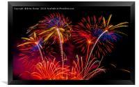 Fireworks!, Framed Print