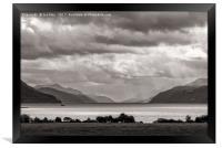Dores, Inverness, Scotland, Framed Print