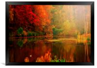 Autumn Reflected, Framed Print