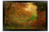 Autumn On My Mind , Framed Print
