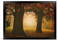 London In the Autumn , Framed Print