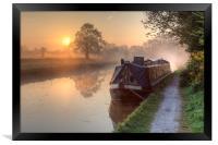Hatton - Grand Union Canal., Framed Print