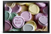 Sweet Heart, Framed Print