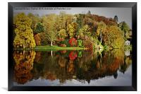 Stourhead Reflection, Framed Print