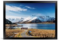 Stromsnes, Lofoten Isles, Framed Print