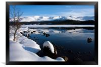 Winter Views at Aviemore, Framed Print