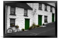 Glenoe Village, Framed Print