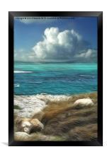 Nonsuch Bay, Antigua, Framed Print