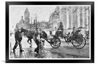 Winter In Bruges, Framed Print