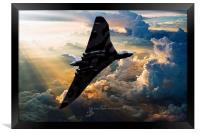 2015 The Last Flight of XH558, Framed Print