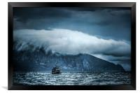Before the storm, Framed Print