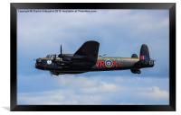 Canadian Avro Lancaster, Framed Print
