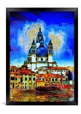 Santa Maria della Salute Venice, Framed Print