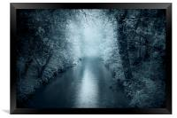 Blue River, Framed Print