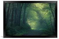 Foggy Morning, Framed Print
