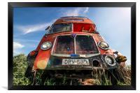 Double Decker Bus, Framed Print