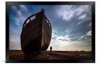 Huge Boat, Framed Print