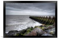 Pier and Sea, Framed Print