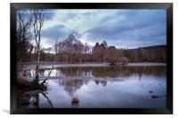 Evening Reflections, Framed Print