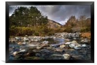 Cumbria Landscape, Framed Print