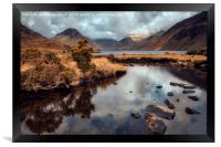 Fresh Water Landscape, Framed Print