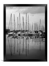 Shoreham Yacht Club, Framed Print