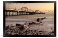 Worthing Pier Evening, Framed Print