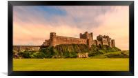 Simply Spectacular Bamburgh Castle, Framed Print