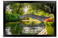 Bridge over troubled waters, Framed Print