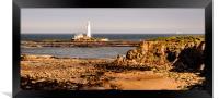 Our rugged coastline, Framed Print