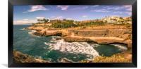 Panorama Costa Adeje Bay, Framed Print