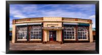 Rendezvous Cafe Beside the Sea , Framed Print