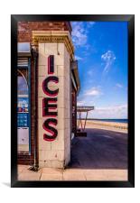 Anyone for Ice Cream ?, Framed Print