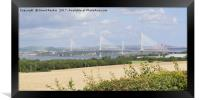 new Queensferry Crossing , Framed Print