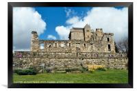 Castle Campbell , Scotland, Framed Print