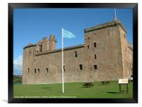 Linlithgow Palace , Scotland, Framed Print